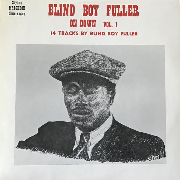 Blues Blind Boy Fuller - On Down Vol. 1 (UK) (VG, tack holes, creases + stains on sleeve)