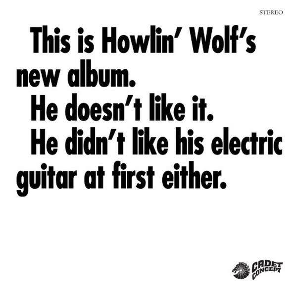 Blues Howlin' Wolf - The Howlin' Wolf Album