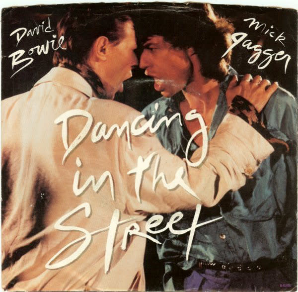 Rock/Pop David Bowie + Mick Jagger - Dancing In The Street (VG+)