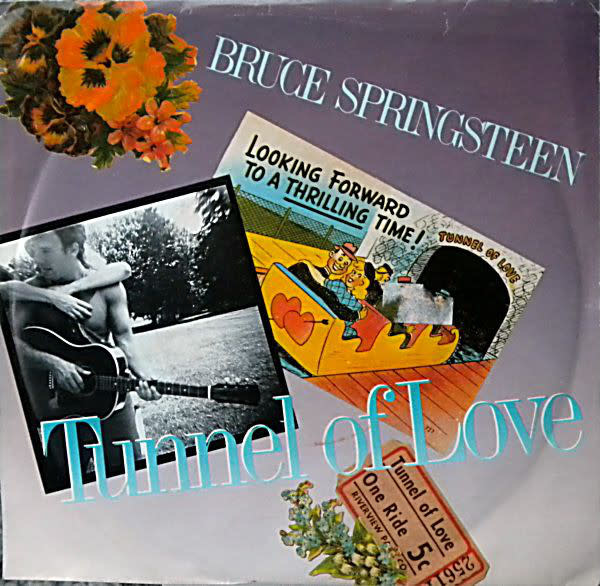 Rock/Pop Bruce Springsteen - Tunnel Of Love b/w Two For The Road (VG+)