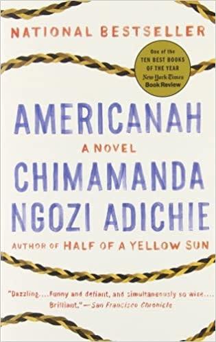 Fiction Americanah - Chimamanda Ngozi Adichie