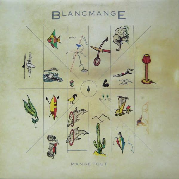 Rock/Pop Blancmange - Mange Tout (Still Sealed; Hole Punch)