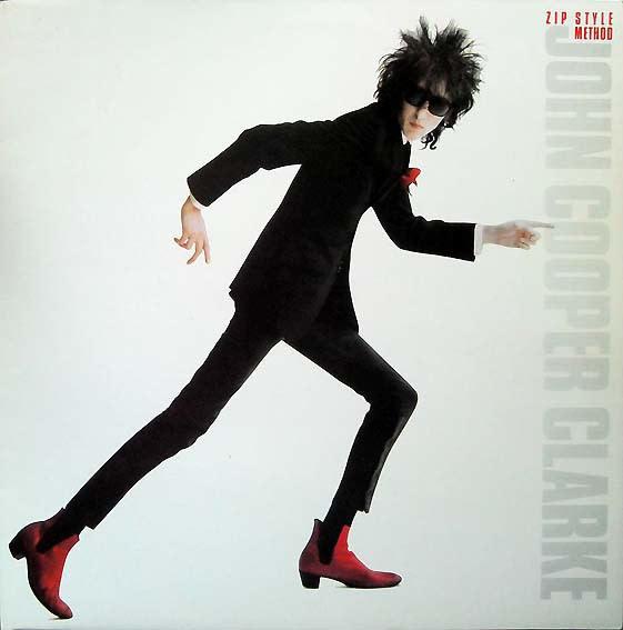 Rock/Pop John Cooper Clarke - Zip Style Method (VG+; stains on cover)
