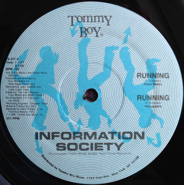 Electronic Information Society - Running (VG+)