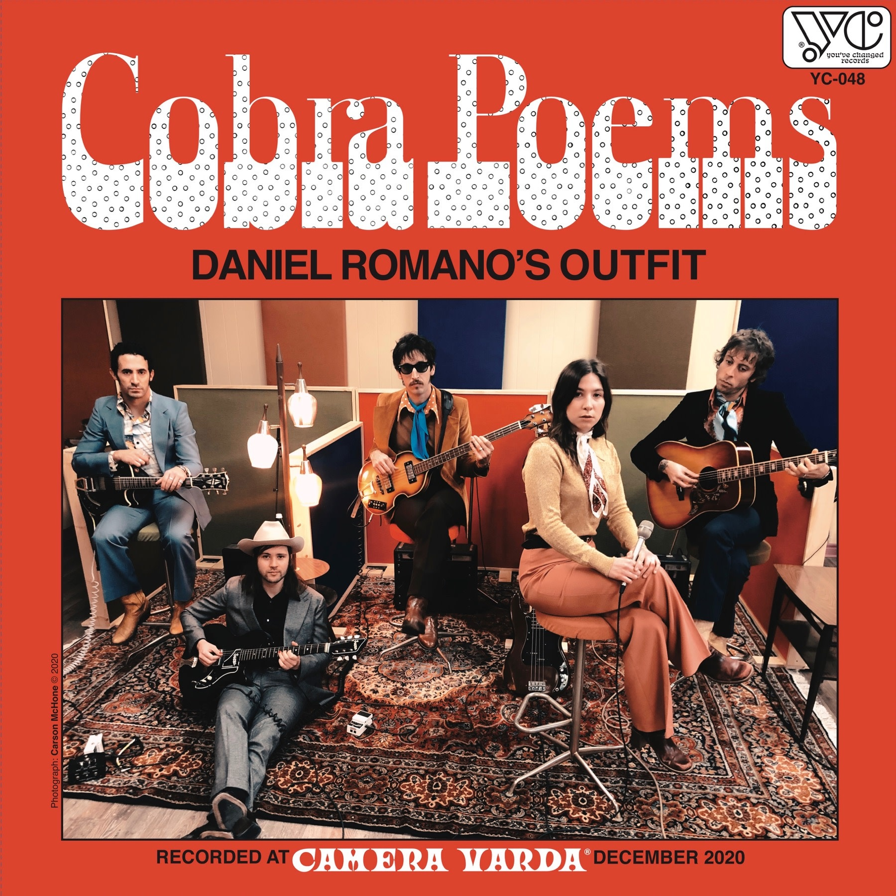 Rock/Pop Daniel Romano's Outfit - Cobra Poems