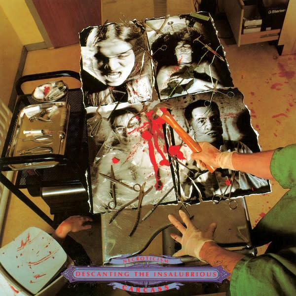 Metal Carcass - Necroticism - Descanting The Insalubrious