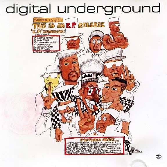 Hip Hop/Rap Digital Underground - This Is An E.P. Release