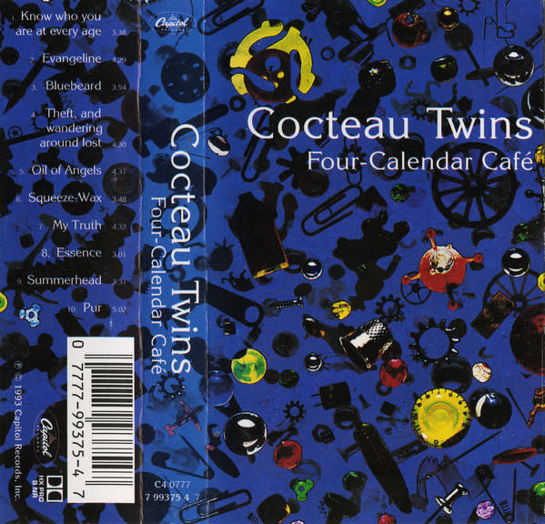 Rock/Pop Cocteau Twins - Four-Calendar Café