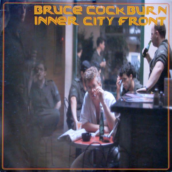 Rock/Pop Bruce Cockburn - Inner City Front (VG; 1 in. spine split, shelf-wear, creases)