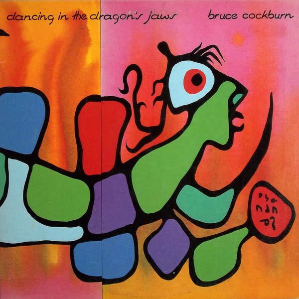 Rock/Pop Bruce Cockburn - Dancing In The Dragon's Jaws (VG; 2 in. bottom seam-split, shelf-wear)