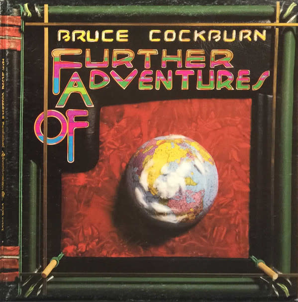 Rock/Pop Bruce Cockburn - Further Adventures Of (VG; shelf-wear)