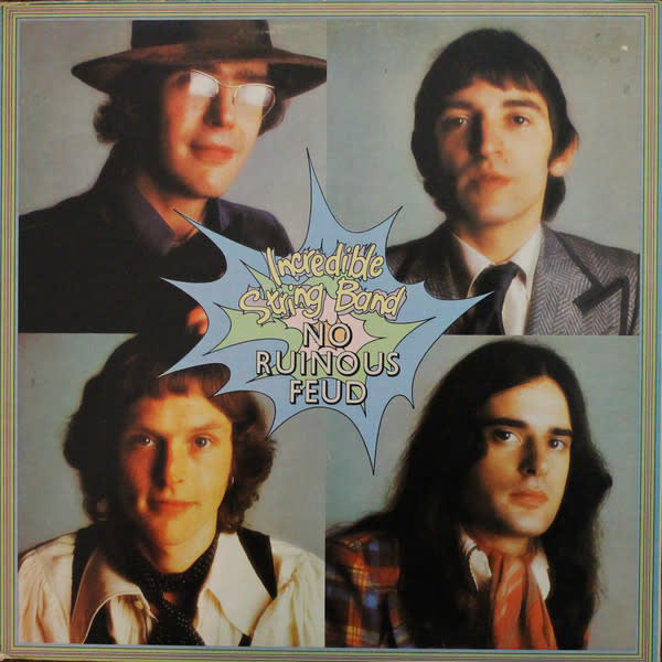 Folk/Country Incredible String Band - No Ruinous Feud (1973 CA) (VG+; hole punch, stain on cover)