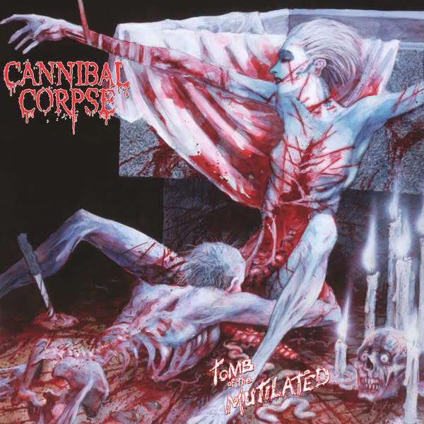Metal Cannibal Corpse - Tomb Of The Mutilated (Red Slushie Coloured)
