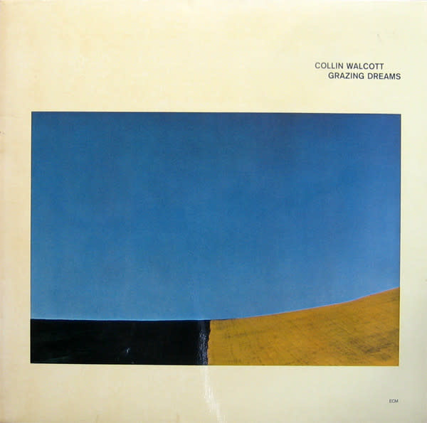 Jazz Colin Walcott - Grazing Dreams ('77 US) (VG; significant wear to sleeve and spine)