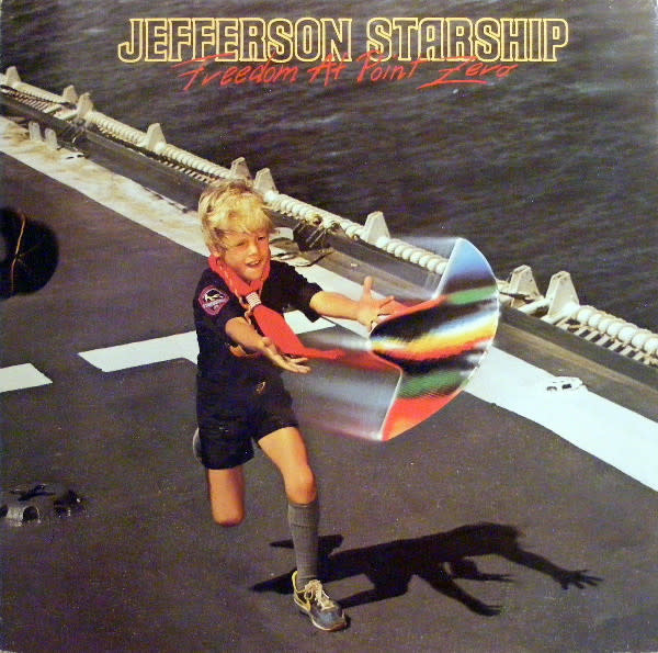 Rock/Pop Jefferson Starship - Freedom At Point Zero (VG+)