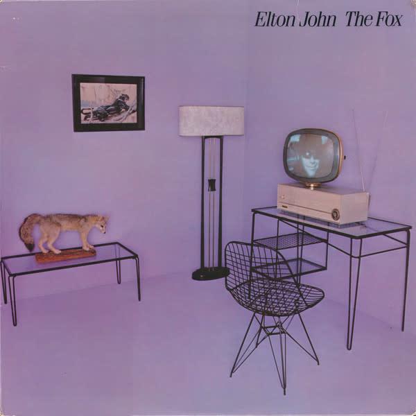 Rock/Pop Elton John - The Fox (VG+; stain on cover; mild creases, shelfwear)