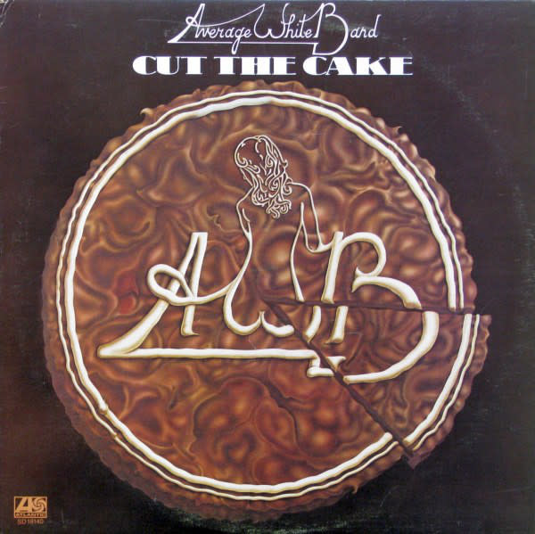 R&B/Soul/Funk Average White Band - Cut The Cake (VG+; shelf-wear, ring-wear, creases)
