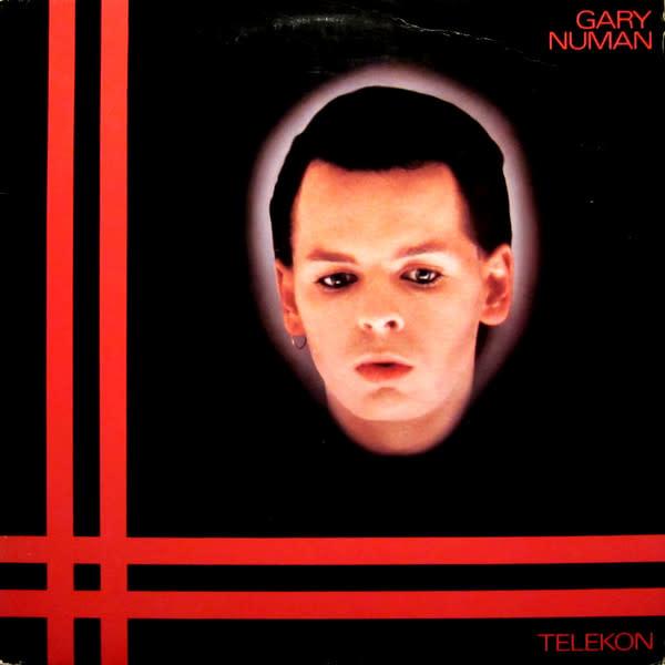 Rock/Pop Gary Numan - Telekon (VG+; hole punch, 1 in. tear on spine, mild creases + ringwear)
