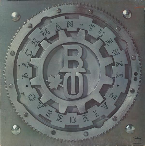Rock/Pop Bachman Turner Overdrive - S/T (Gatefold) (VG; light ring-wear)