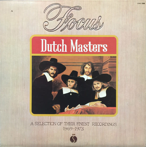 Rock/Pop Focus - Dutch Masters: A Selection Of Their Finest Recordings 1969-1973 (VG+; hole punch, shelf/edge/ring-wear, creases)