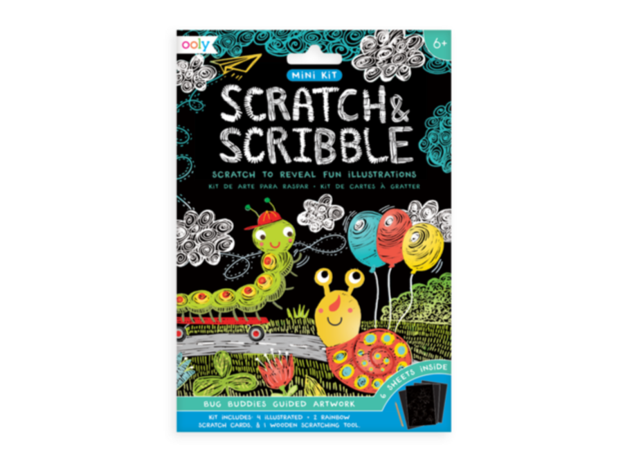 Scratch and scribble art kit