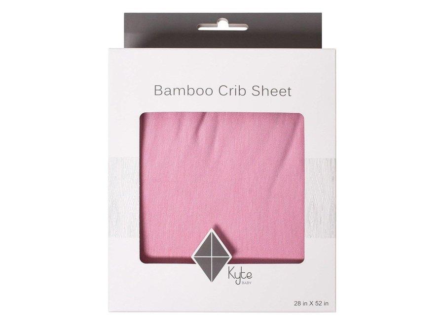 Bamboo crib sheet