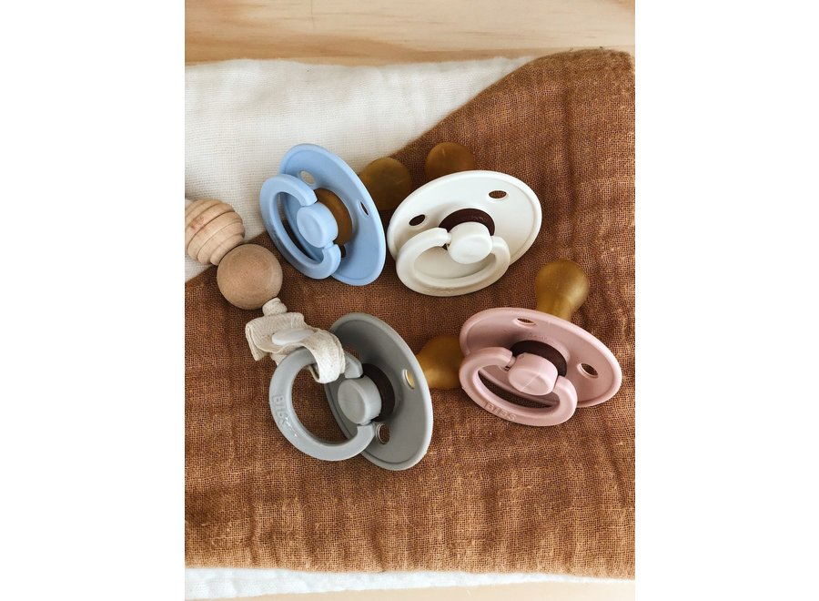 Natural rubber pacifier size 2