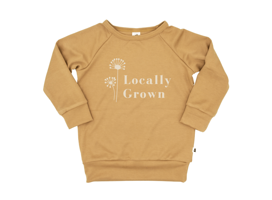 Pullover 'Locally grown' - Honey