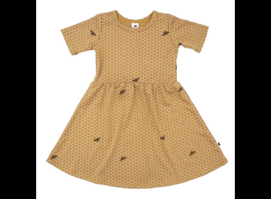 Daphne dress - Honeycomb