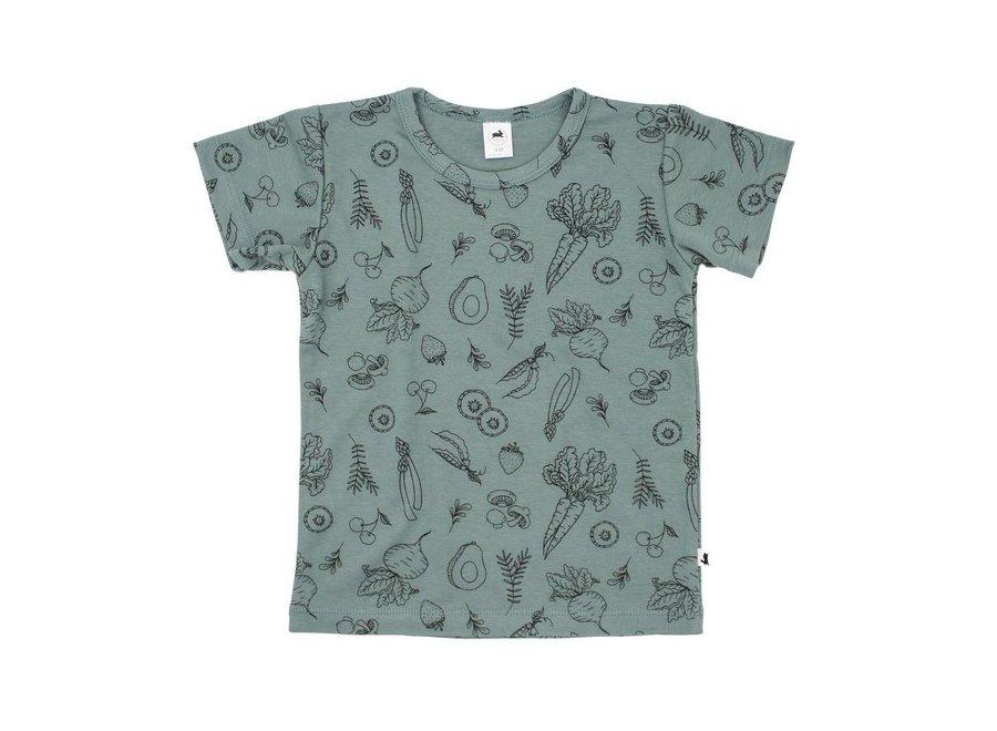 Market veggies t-shirt