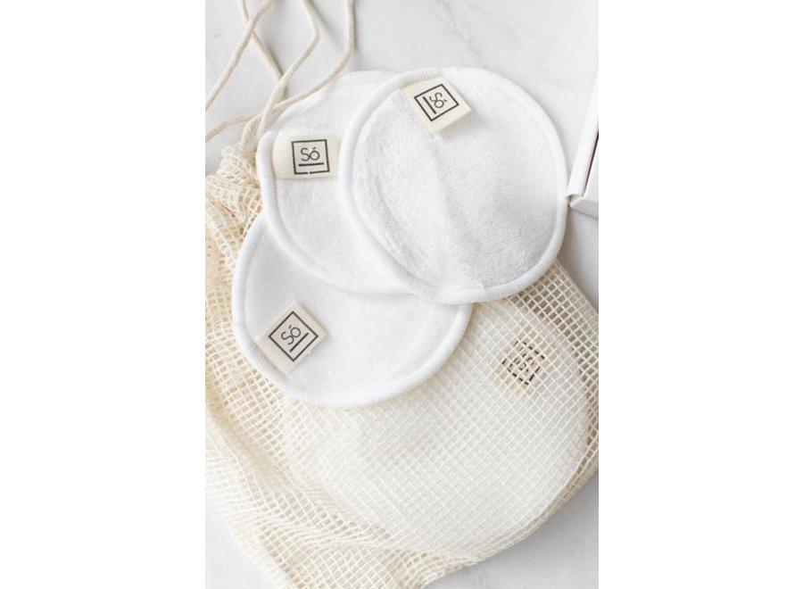 Reusable Bamboo Cotton Rounds