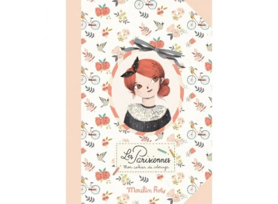 Parisiennes Colouring Book