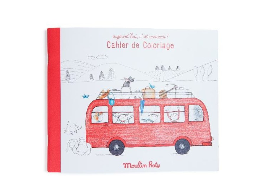 Aujourd'hui Colouring book
