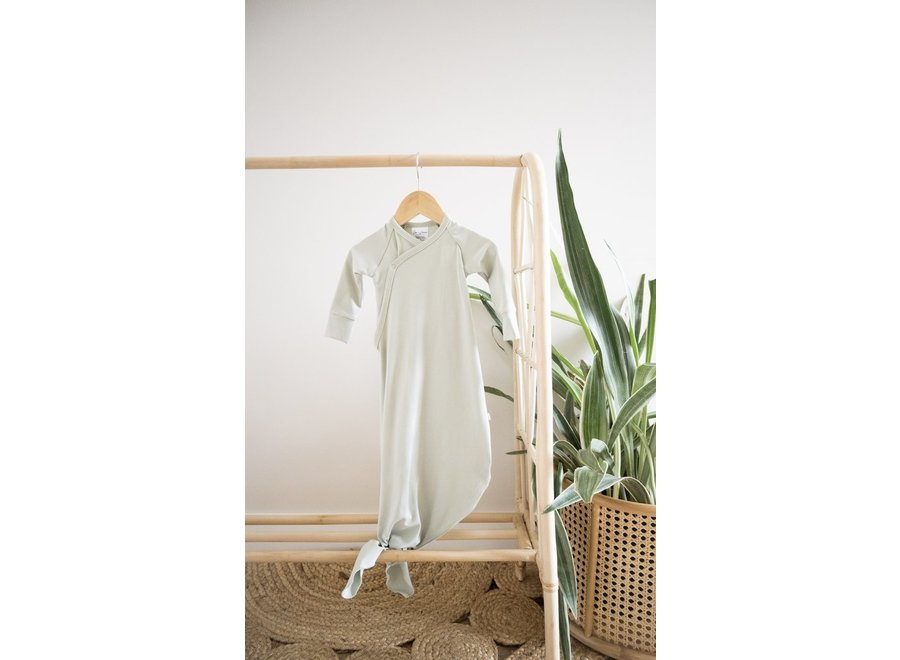 Infant knot gown