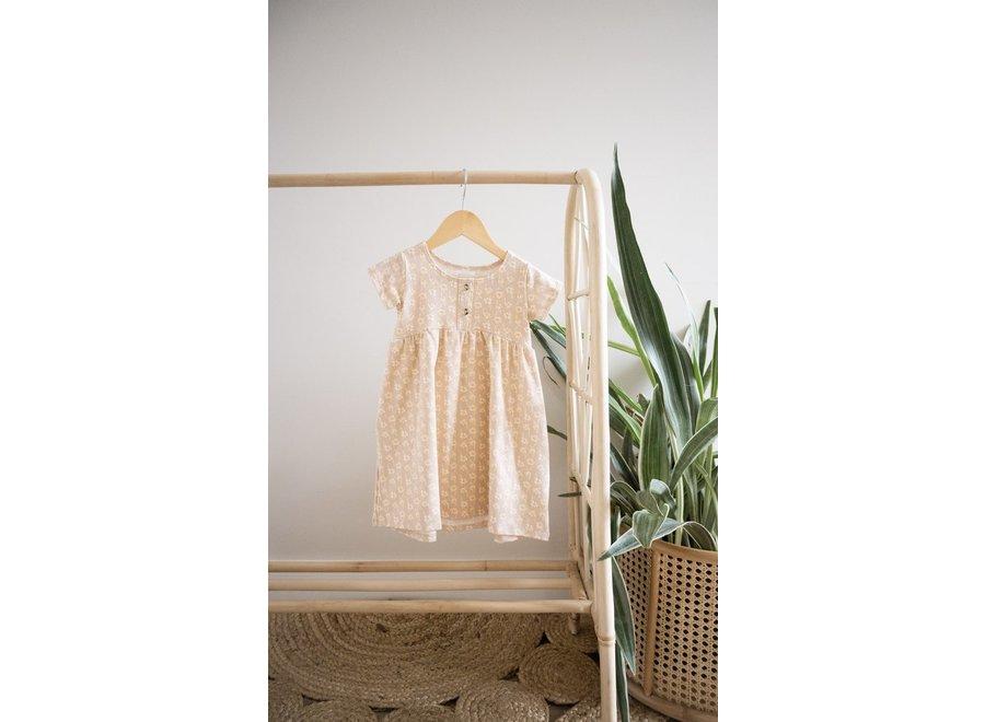 Peplum dress short sleeve