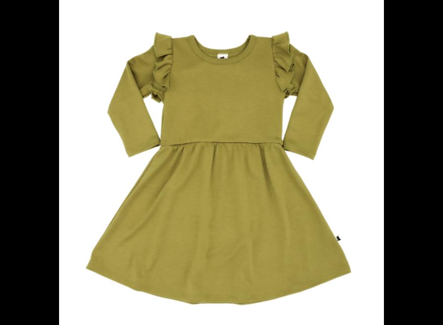 Baby/kids Harper dress moss