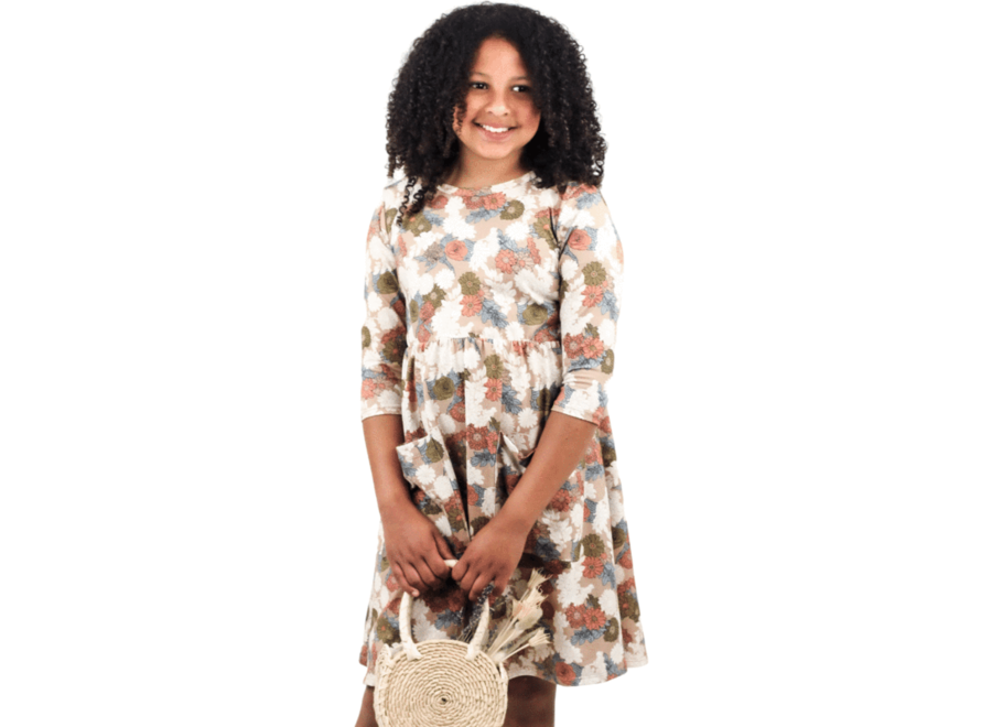 Youth clementine dress