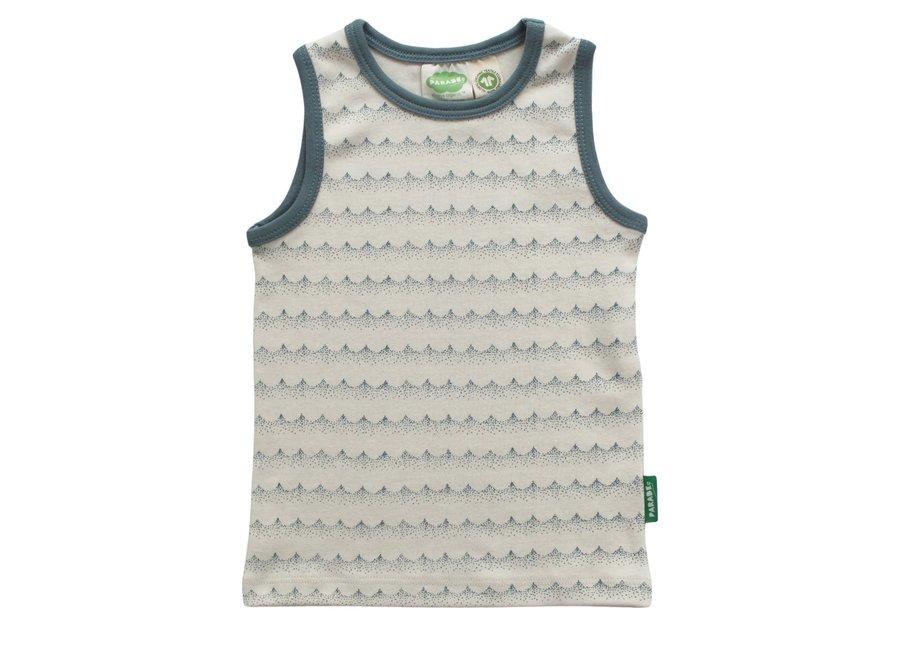 Tank shirt signature print