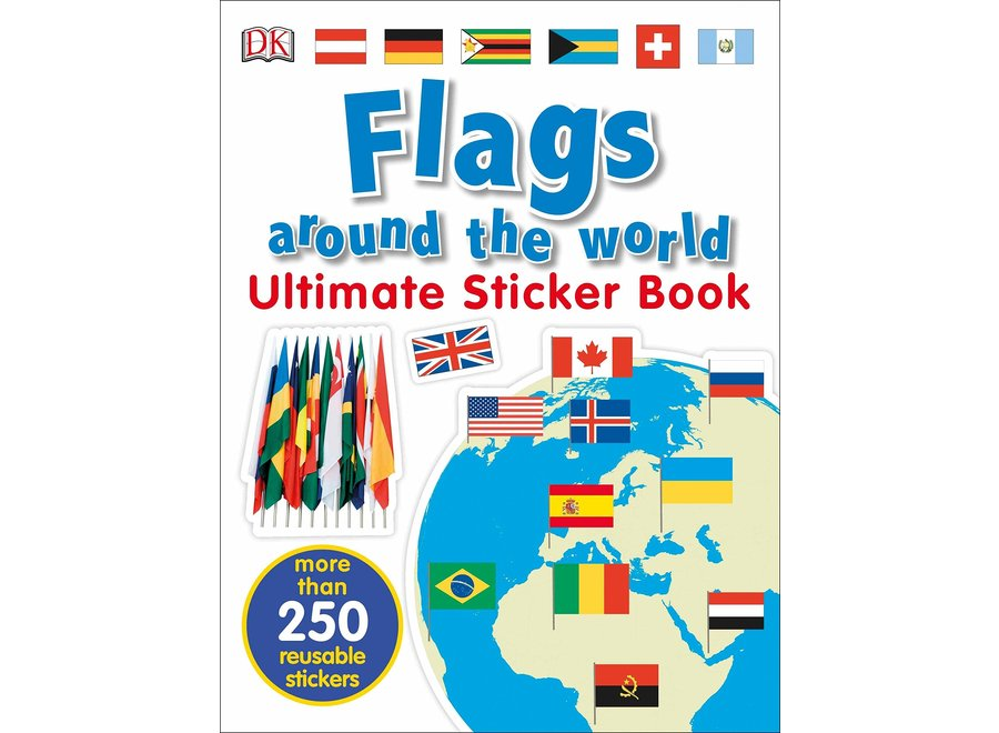 Flags Ultimate sticker book