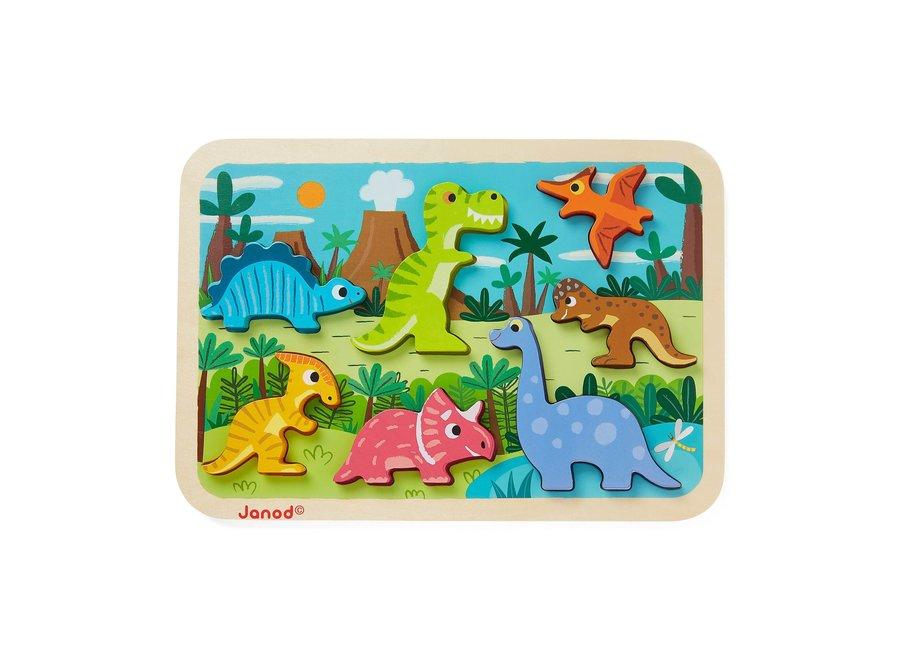 Chunky Puzzle Dinosaur