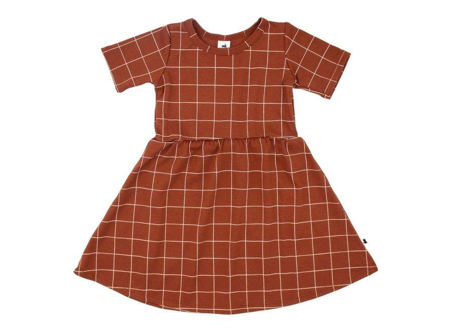 Daphne dress - Grid