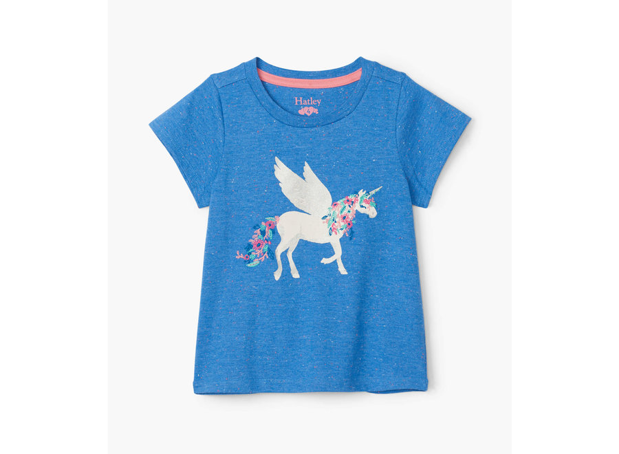 Mystical unicorn graphic tee