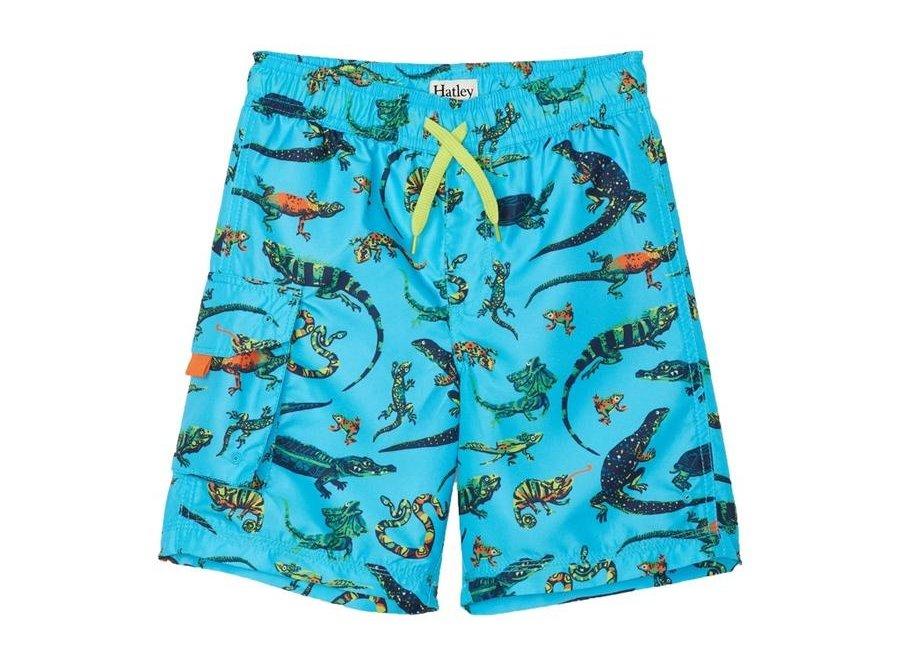 Rambunctious Reptiles Swim Trunks