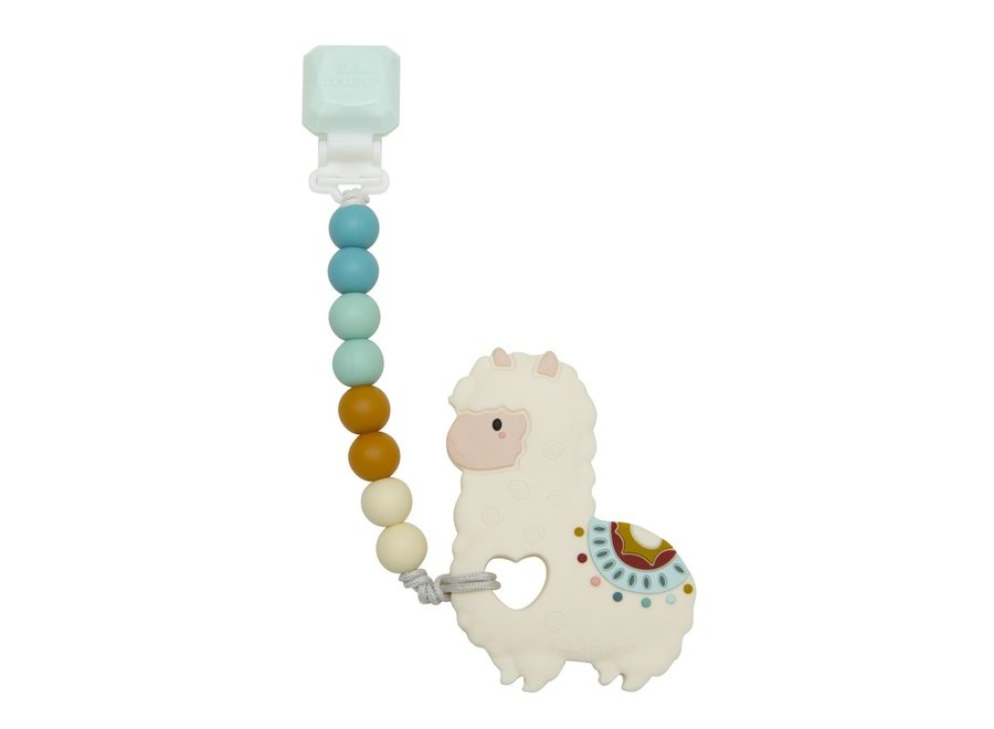 Llama teether gem set