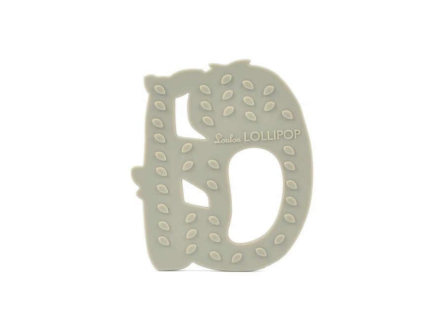 Sloth silicone teether set
