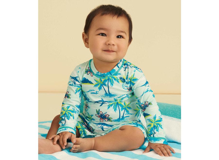 Tropical Islands Baby One-Piece Rashguard
