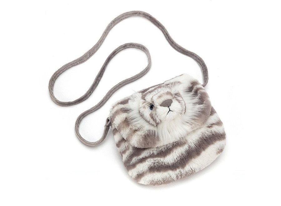 Sacha snow tiger shoulder bag
