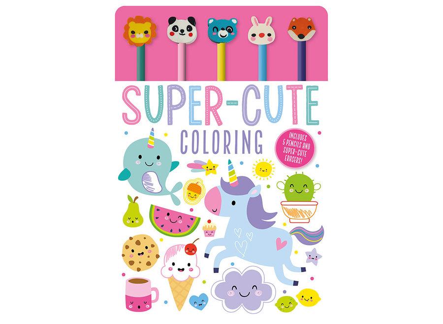 Super cute colouring pad