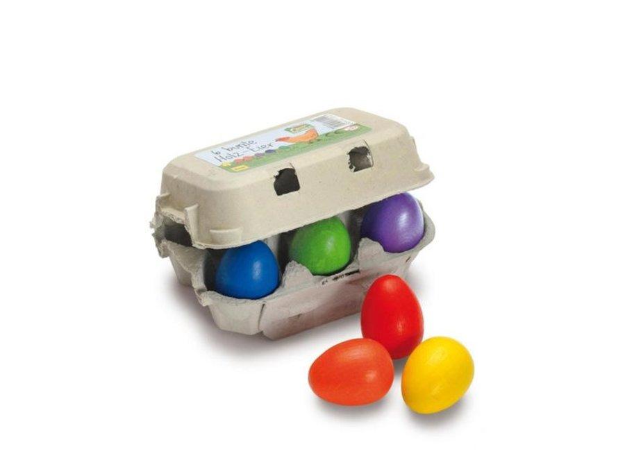 Eggs, Coloured Sixpack