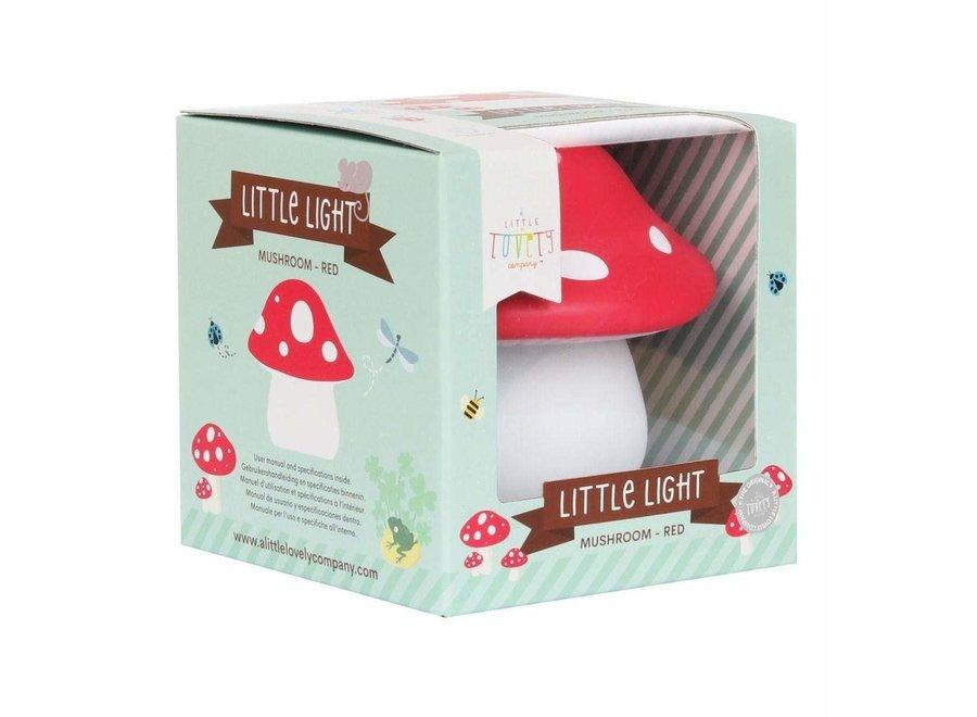 Little light Mushroom Red